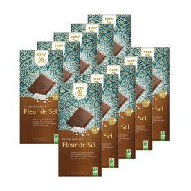 10 x Bio Schokolade Fleur de Sel (10x100g)