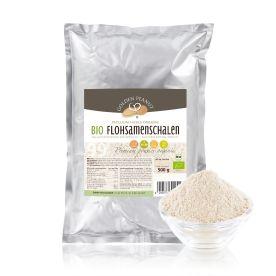Bio Flohsamenschalen Pulver 99% (500g)