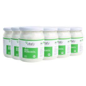 6 x Bio Kokosöl (6x500ml)