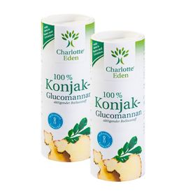 2 x 100% Konjak-Glucomannan Pulver (2x90g)