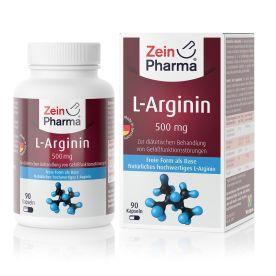 L-Arginin 500mg (90 Kapseln)