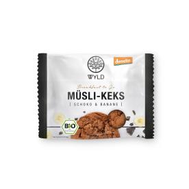 "Demeter Müsli-Keks Schoko & Banane ""Breakfast to Go"" (12x50g)"