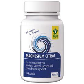 Magnesiumcitrat (90 Kapseln)