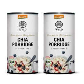 "2 x Demeter Chia Porridge Heidelbeere ""Breakfast Brightener"" (350g)"