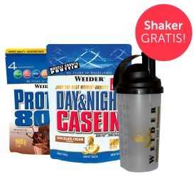 Protein Probierpaket + Shaker gratis!