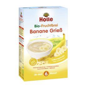 鸿乐有机婴儿香蕉米糊 6个月起 250g  Bio-Fruchtbrei Banane Grieß, ab dem 6. Monat (250g)