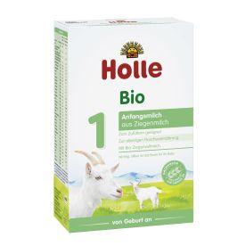 Bio-Anfangsmilch 1 auf Ziegenmilchbasis, von Geburt an (400g)