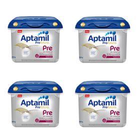 4x Aptamil Profutura Anfangsmilch Pre safe box (800g)