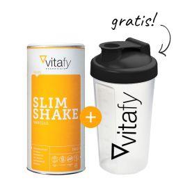 Slim Shake (500g) + GRATIS Vitafy Shaker (600ml)
