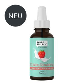 Functional Flavedrops Creamy Strawberry »Beauty« (30ml)