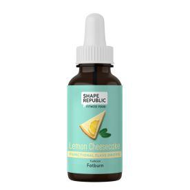 Functional Flave Drops Lemon Cheesecake »Fatburn« (30ml)