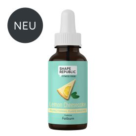 Functional Flavedrops Lemon Cheesecake »Fatburn« (30ml)