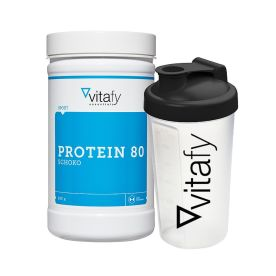 Protein 80 (500g) + GRATIS Vitafy Shaker (600ml)