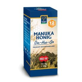Manuka Honig On-the-Go MGO 100+ (12x5g)