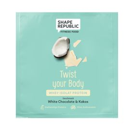 Whey Isolat Protein White Chocolate & Coco »Twist your Body« to go (30g)