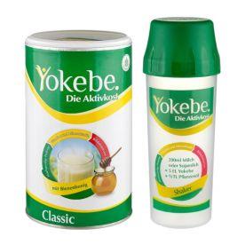 Aktivkost Yokebe Classic Pulver - Starterpaket mit Shaker