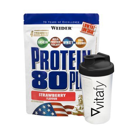 Protein 80 Plus (2000g) + Vitafy Shaker (600ml)