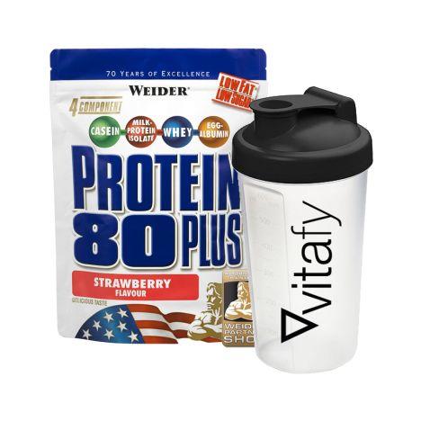 Protein 80 Plus (750g) + Vitafy Shaker (600ml)