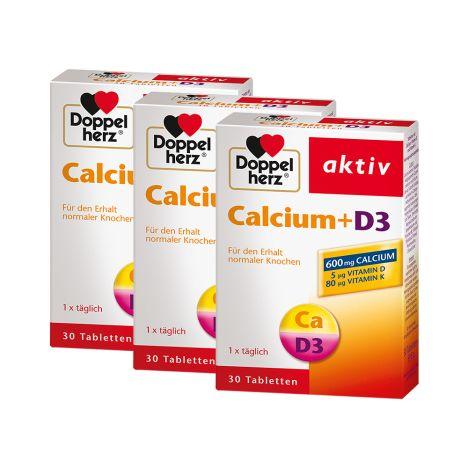 3 x Calcium + D3 (3x30 Tabletten)