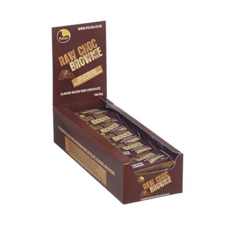 Raw Choc Brownie (18x50g)