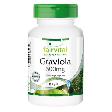 Graviola 600mg (90 Kapseln)