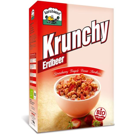 Krunchy Erdbeere (700g)