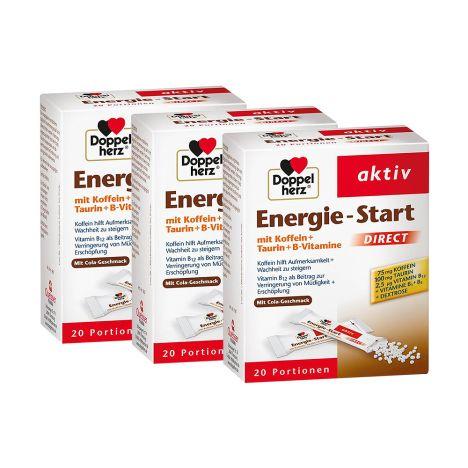 3 x Energie Start Direct (3x20 Portionen)