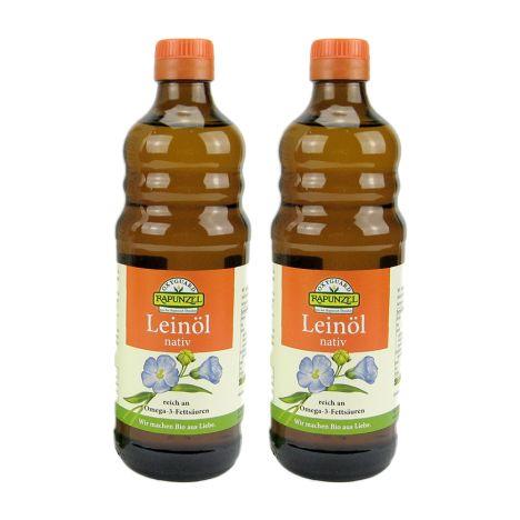 2 x Leinöl nativ Bio (2x500ml)