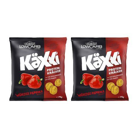 2 x LowCarb.one Käxxi Protein-Kräcker (2x75g)
