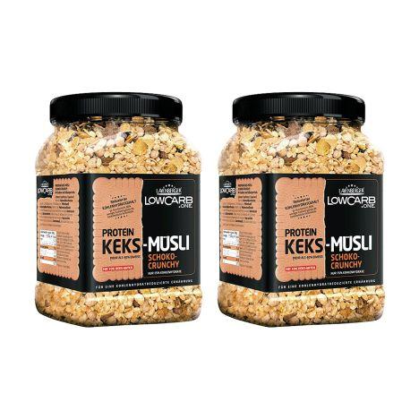 2 x LowCarb.one Protein-Keks-Müsli (2x530g)