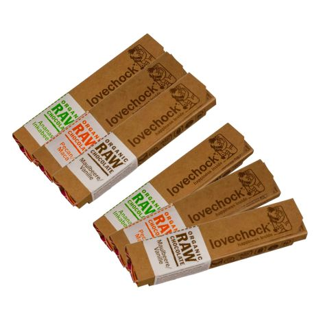 6 x Organic RAW Chocolate (6x40g)