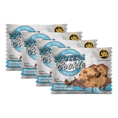 4 x Protein Cookie Chocolate Cookie Dough (4x75g)