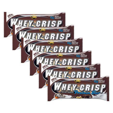 6 x Whey Crisp Protein Bar (6x50g)