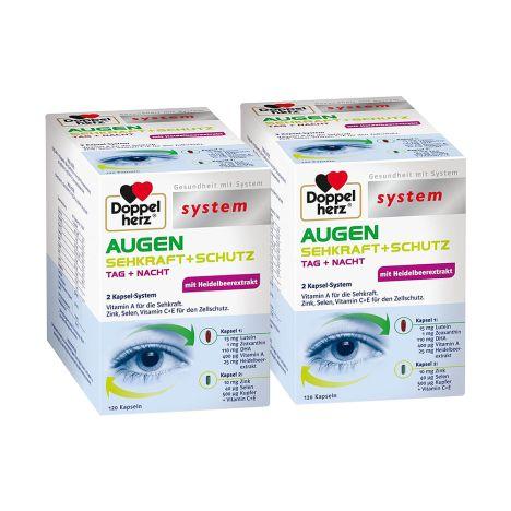 2 x Augen Sehkraft + Schutz (2x120 Kapseln)