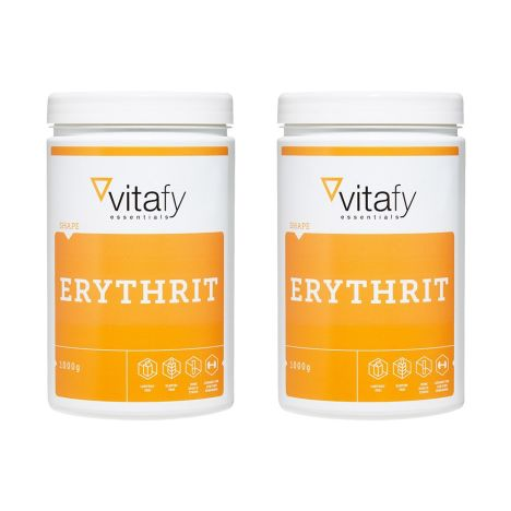 2 x Vitafy Essentials Erythrit (2x1000g)