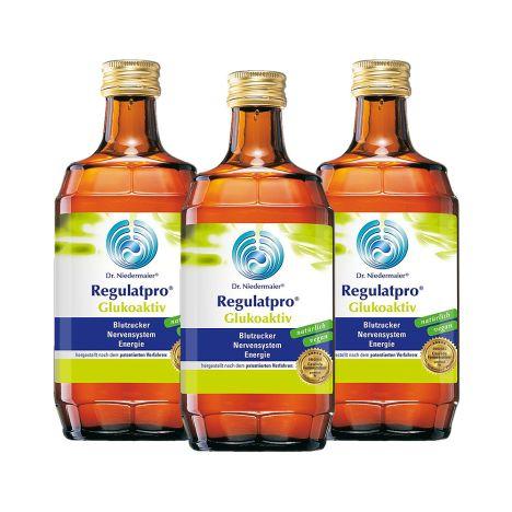 3 x Regulatpro Glukoaktiv (3x350ml)