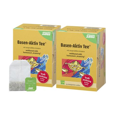 2 x Basen Aktiv Tee N1 bio (2x40 Beutel)
