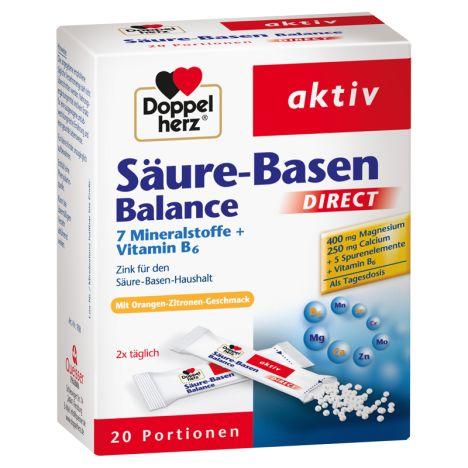 Säure-Basen Balance (20 Portionen)