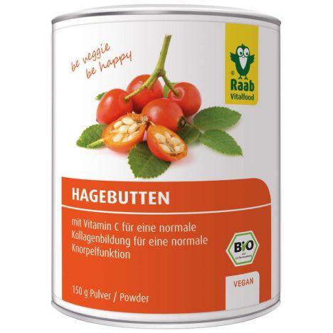 Hagebutte Pulver Dose Bio (150g)
