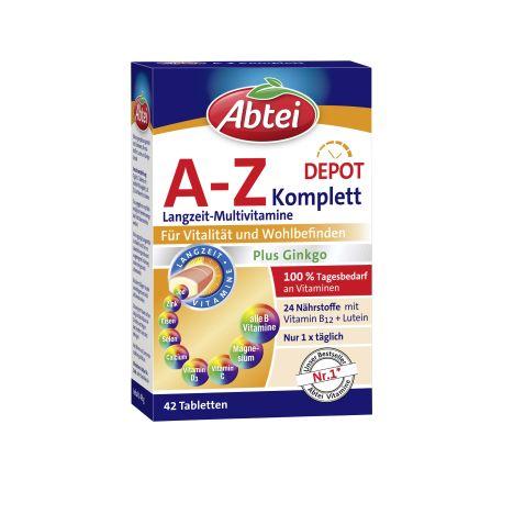 A-Z Vitamine und Mineralien (42 Tabletten)