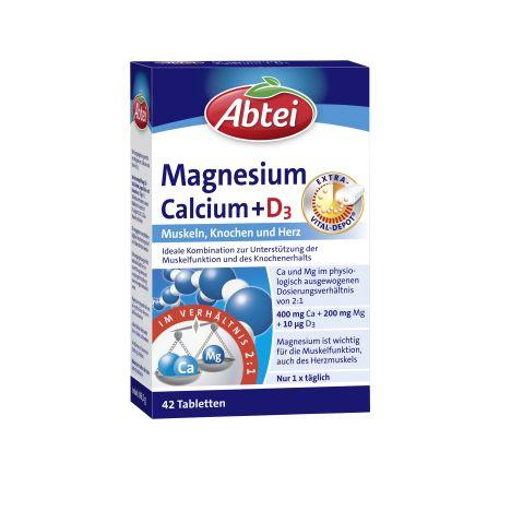 Magnesium Calcium + D3 Depot (42 Tabletten)