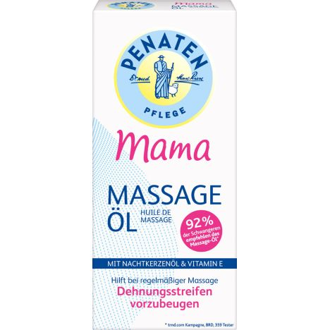 Mama Massageöl (200ml)