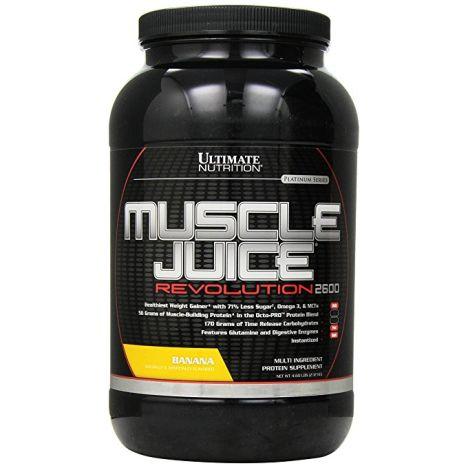Muscle Juice Revolution 2600 - 2120g - Banana MHD 30.04.2018