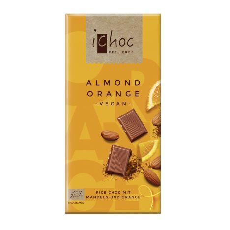 iChoc Almond Orange bio (80g)