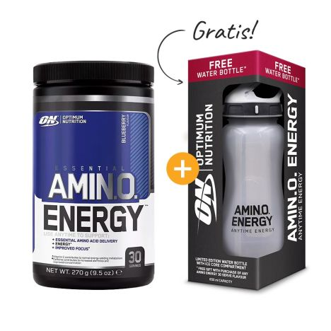 Amino Energy (270g) + Waterbottle Amino Energy Limited Edition (650ml) gratis