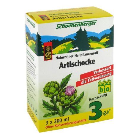 Artischocke Naturreiner Heilpflanzensaft bio (3x200ml)