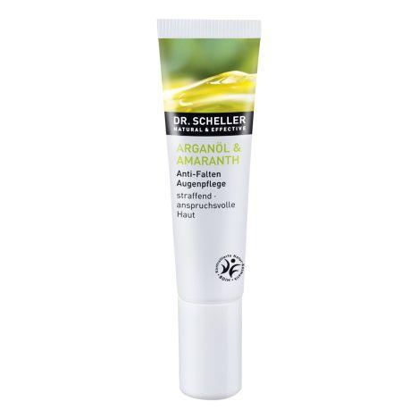 Arganöl & Amaranth Anti-Falten Augenpflege (15ml)