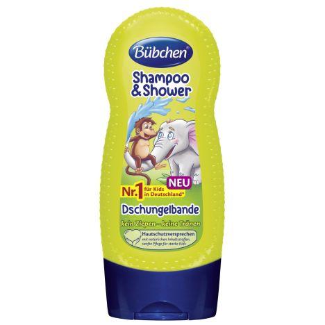 Kids Shampoo & Shower Dschungelbande (230ml)