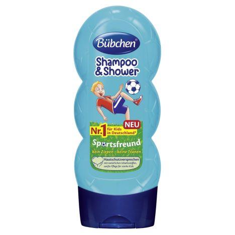 Kids Shampoo & Shower Sportsfreund (230ml)