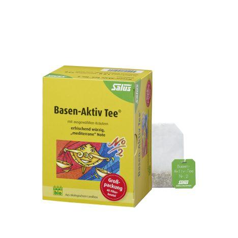 Basen Aktiv Tee N2 bio (40 Beutel)